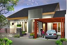 Desain Rumah Minimalis 1 Lantai Mewah Foto Desain Rumah