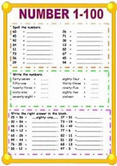 worksheets numbers 1 100 18387 number 1 100 esl worksheet by sweetdreamja