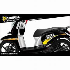 Variasi Motor Scoopy 2018 by Striping Scoopy 2018 Smart4k Design Ideas