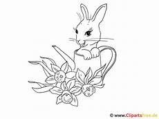 Bilder Zum Ausmalen Insel Ostern Ausmalbild Mit Kaninchen