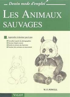 livre les animaux sauvages apprendre 224 dessiner pas 224