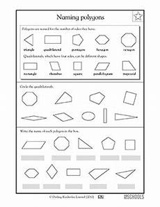 worksheets polygons and quadrilaterals 1025 3rd grade 4th grade math worksheets naming polygons math worksheets geometry worksheets