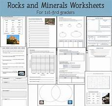 science worksheets rocks 12368 rocks and minerals unit study resource packet mamas learning corner