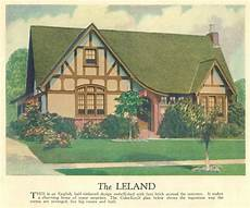 half timbered house plans the leland colorkeed home plans 1927 from w o green