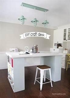 7 diy craft desks diy crafts desk craft room desk