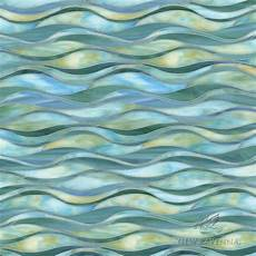 Aquamarine Bathroom Ideas by Oasis A Waterjet Glass Mosaic Shown In Peacock