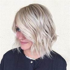 angle bob wavy hair for round faces flattering top 60 flattering hairstyles for faces in 2019