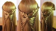 Coiffure Papillon Tuto Tresse Pour Cheveux Mi