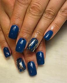 25 dark blue nail art designs ideas design trends