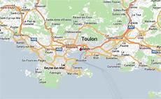 carte toulon toulon carte et image satellite