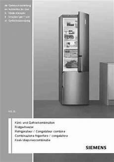 siemens kg49nh90gbk 195 188 hlschrank kombination pdf anleitung