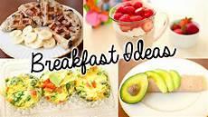 healthy easy breakfast ideas for school youtube
