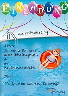 Malvorlagen Kinder Geburtstag 16 Luxury Einladung Kindergeburtstag Schwimmbad Vorlagen