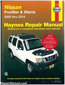 old car owners manuals 2005 nissan frontier free book repair manuals haynes nissan frontier xterra 2005 2014 auto repair manual