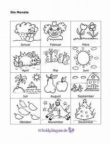 Ausmalbilder Jahreszeiten Monate Lieder Feste Und Jahreszeiten Teddylingua