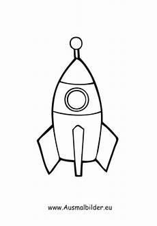 Malvorlage Rakete Einfach Ausmalbild Rakete Kostenlos Ausdrucken