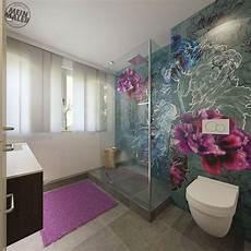 tapete badezimmer tapete im badezimmer wandtapeten als kreative alternative