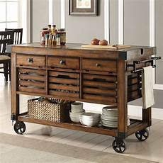 kitchen islands and carts furniture acme furniture kaif kitchen cart wayfair