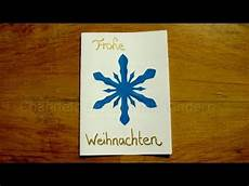 weihnachtskarten basteln mit papier leichte bastelideen