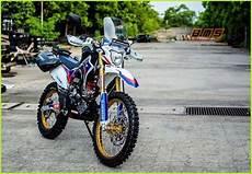 Modifikasi Honda Crf150l by Modifikasi Honda Crf150l Untuk Para Petualang Tangguh
