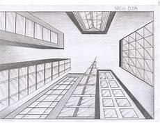 Fluchtpunkt Zeichnen Zimmer - one point perspective interiors photographs one point
