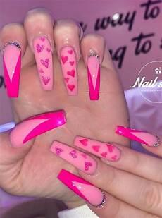 23 romatic heart manicure nails design for valentine s