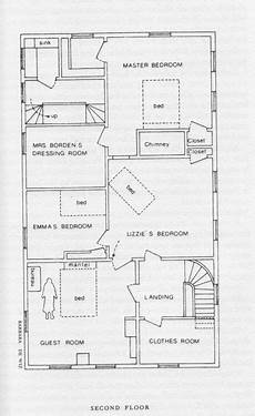 lizzie borden house floor plan the borden house floor plan of the second floor bridget