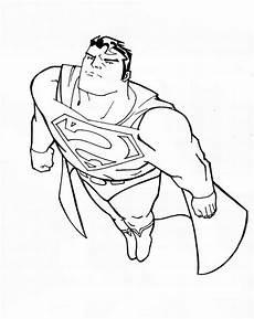 Superhelden Ausmalbilder Zum Drucken Ausmalbilder Malvorlagen Superman Kostenlos Zum