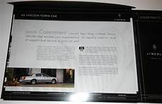 book repair manual 2006 lincoln town car security system purchase 2006 lincoln town car portfolio brochure motorcycle in clawson michigan us for us 12 99