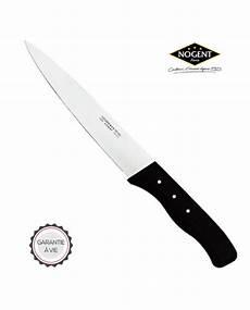 grand couteau de cuisine 17 cm lame affident 233 e 174 noir