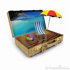 Gratis Malvorlagen Regenschirm Island Travel Suitcase With Chair And Umbrella Royalty Free
