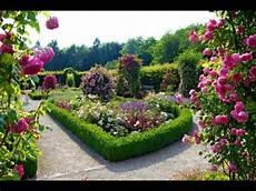 Flower Garden Hd Background Wallpaper