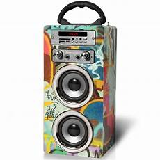 enceinte bluetooth karaoke enceinte bluetooth karaok 233 acoustics mcp 20 micro inclus graffiti electronics fr zavvi