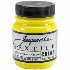 buy jacquard textile paint 2 25 oz fl yellow