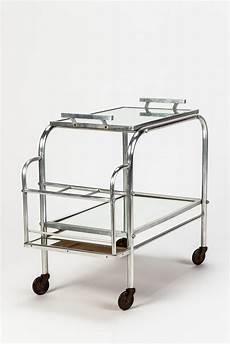 Aluminium Bar Cart Deco 30 Barwagen Serviertablett