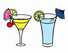 disegni di bicchieri disegno i due bicchieri d acqua e limone colorato da