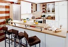 Einbauküche Mit Theke - einbauk 252 che 2052 1 k 252 che l form mit raumteiler theke