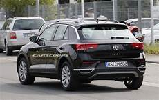 vw t roc hits the streets of germany following its big