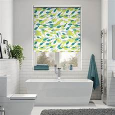Bathroom Blinds Fish Pattern by New Beginnings A Splash Blinds 2go