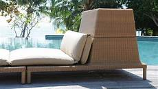 Sun Lounger With Storage