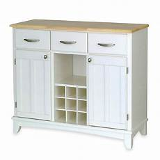 Kitchen Server Furniture Home Styles Large Buffet Server With Wood Top