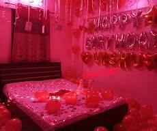 Anniversary Bedroom Ideas For Married Couples by Room Decoration For Birthday In