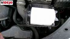 how to replace air filter on vw golf 5 1 6 petrol vw