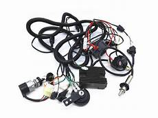250cc wiring harness cf250 gy6 250cc kandi kinroad buggy complete wiring loom harness components ebay