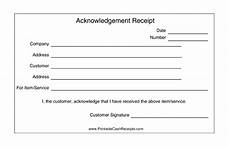 acknowledgement receipts 2 per page