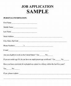 practice job application sle 7 exles in word pdf