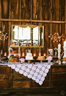 miss lovie fall wedding ideas rustic dessert table