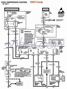 hvac wiring diagram for 1995 caprice a c compressor wiring electrical firebird nation