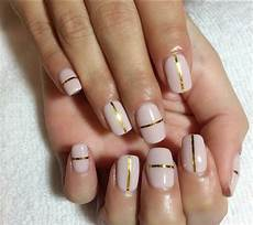 Nail Strips How To Use Nail Striping With Gel