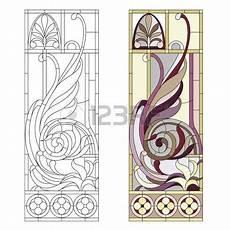 Malvorlagen Jugendstil Wedding Jugendstil Design Glasfenster Im Stil Des Historismus